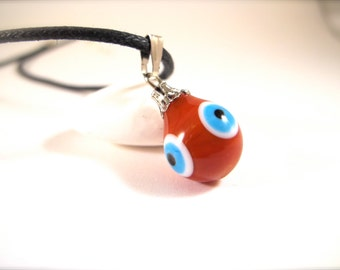Red Evil Eye Pendant