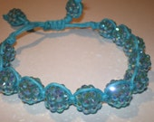 AQUA CRYSTAL BLING Bracelet