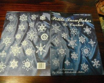 Thread Snowflake Crocheting Patterns Petite Snowflakes Leisure Arts 1381 Helen Milinkovich Milton Thread Crochet Pattern Leaflet