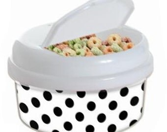 Snack Container Ready for You to Personalize - White