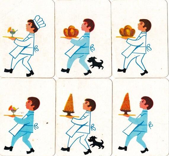 Vintage 1970s Children's Cards
