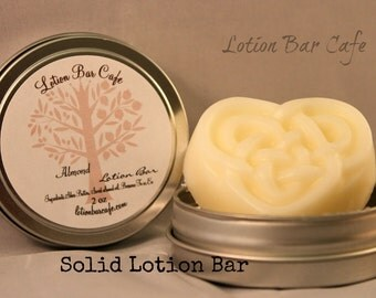 Solid Lotion Bar -Almond