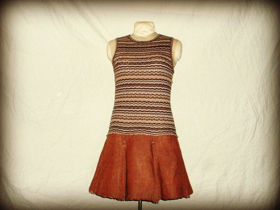 upcycled sweater dress eco urban chic for women medium