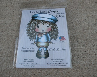 Beret Marci, La-La Land Crafts Stamp