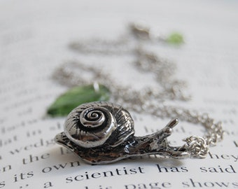 Large Forest Snail Necklace