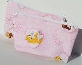 Disney Princess Pink Zippered Pouch