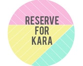 Reserve for Kara Daytona 16x20