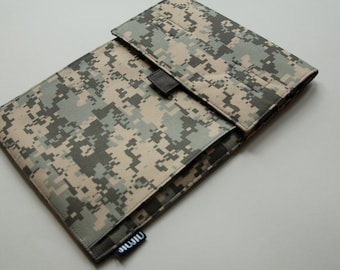 Laptop Case, for MacBook 11inch/13inch/15inch and other laptop models. Camouflage/Water Resistant/Padded