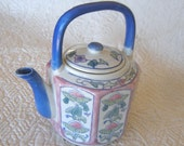 Vintage Individual Teapot Ben Rickert Asian Style