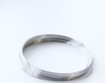 "0.25 OZ. Stainless Steel Beadalon Memory Wire -Bracelet  1.75""-2.25"""