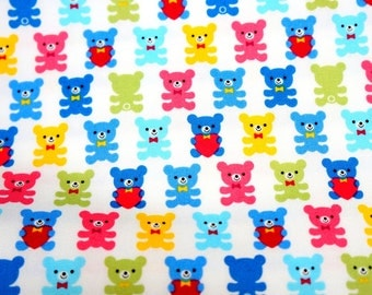 Japanese fabric Bear  print Fat Quarter  nc12