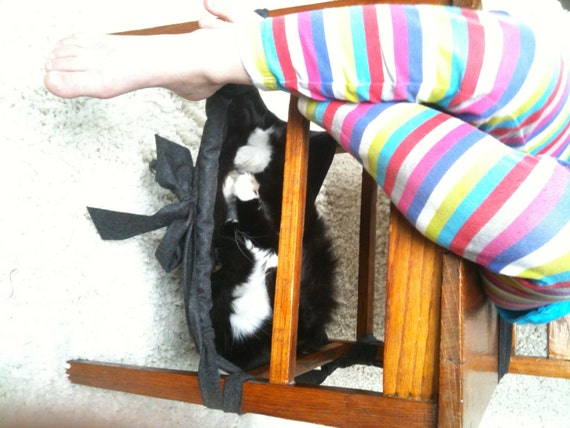 Items Similar To Hanging Under Chair Cat Hammock Pet Bed