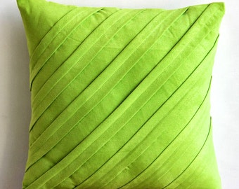 Decorative Throw Pillow Covers Couch Pillow Sofa Pillow 20 Inch Suede Pillow Cover Contemporary Lime Home And Living Decor And Housewares