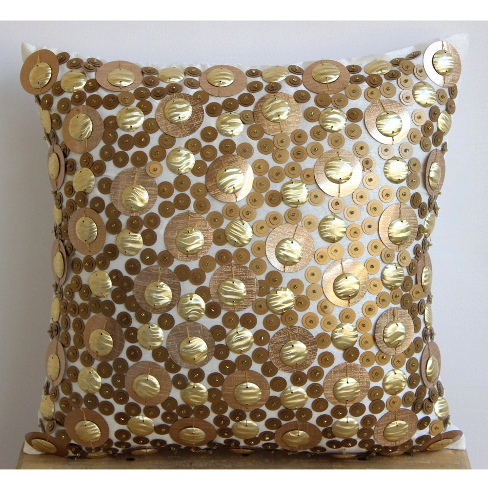 gold pillow cases