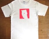 Grace Jones - graphic Tshirt (Neon Pink on White)