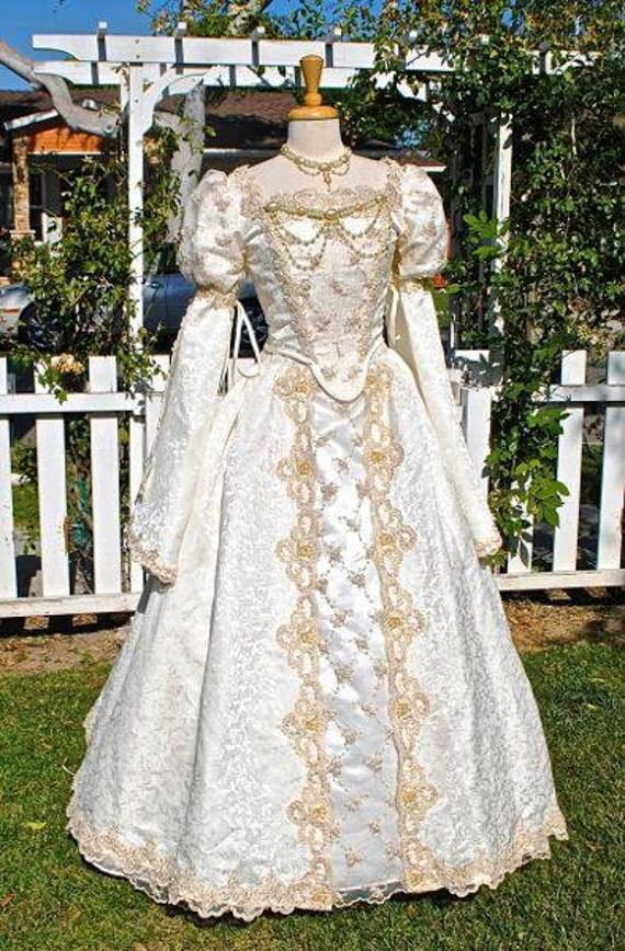 items similar to cinderella princess fantasy wedding gown
