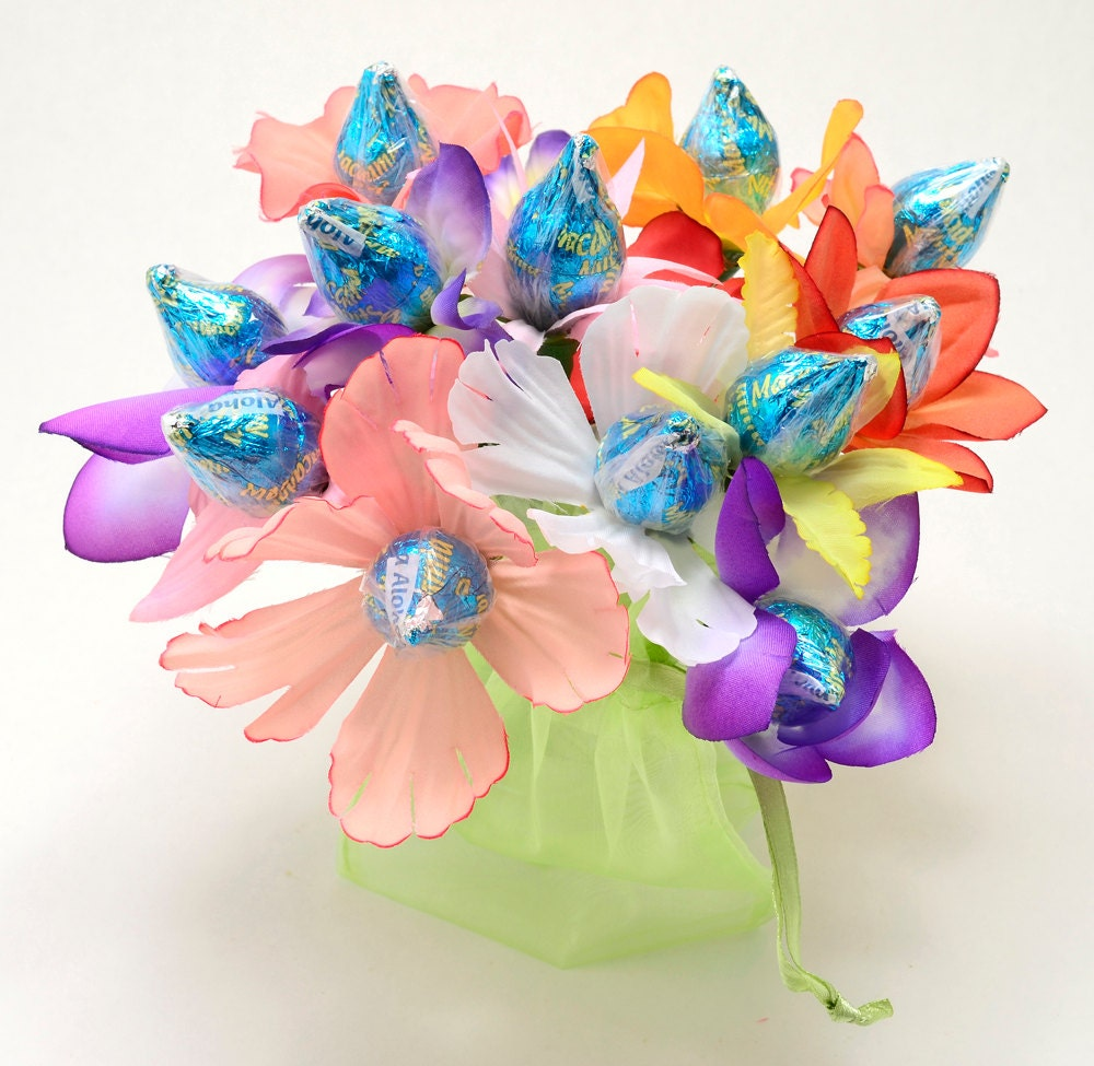 Popular Chocolate Candy Chocolate Candy Bouquet 12