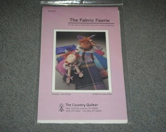 The Fabric Faerie 10 Inch Tall Doll New Uncut