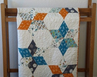 Star System Quilt Pattern - PDF