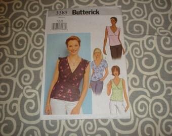 Butterick 3385 top pattern