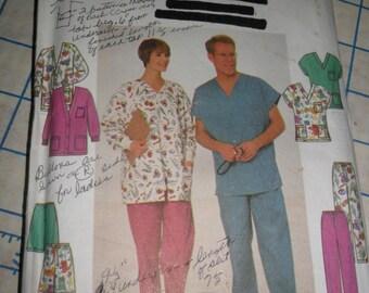 2004 Simplicity Pattern 8088 Misses - Men's - Teens Uniform patterns