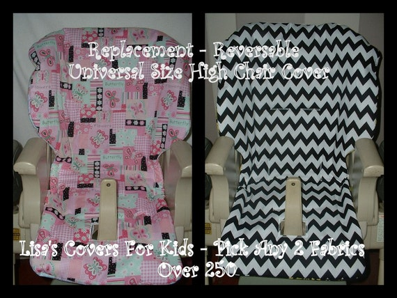 baby universal fit high chair cover by lisascoversforkids on etsy. Black Bedroom Furniture Sets. Home Design Ideas