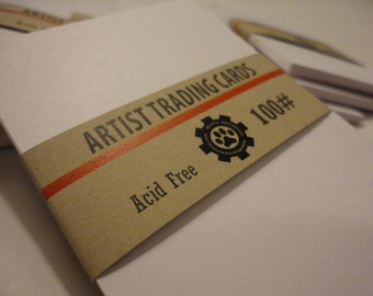 Artist Trading Cards - 100 lb. Super Smooth