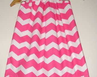 SALE pillowcase dress 15%off coupon is till2016 pink chevron pillowcase dress sizes 3,6,9,12,18 months , 2t, 3t, 4t, 5t, 6, 7, 8 10, 12