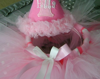 Party Hat with Matching Tutu