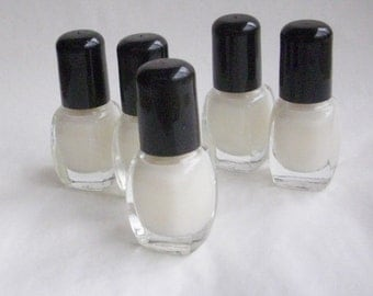 Nail Polish: Clear Base and Top Coat