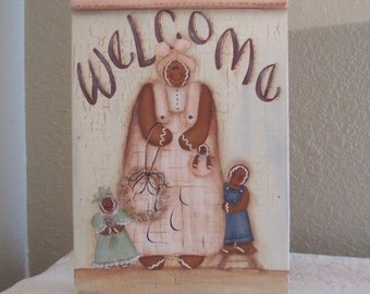 Gingerbread-wall hanging-picture