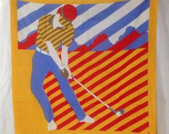 Vintage Golfer Scarf