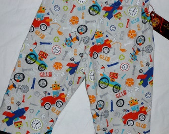 New Robot  Toddler  Pants size 2t-5t