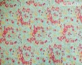 Liberty of London Classic Tatum Tana Lawn fabric 100% Cotton in Aqua Sold by the yard
