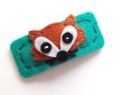Fox Hair Clip - FREE US Shipping - Your Choice of Colors