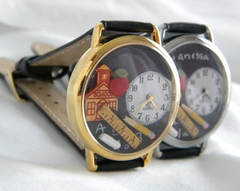 Teacher Watch Personalize Customize with Teachers Name