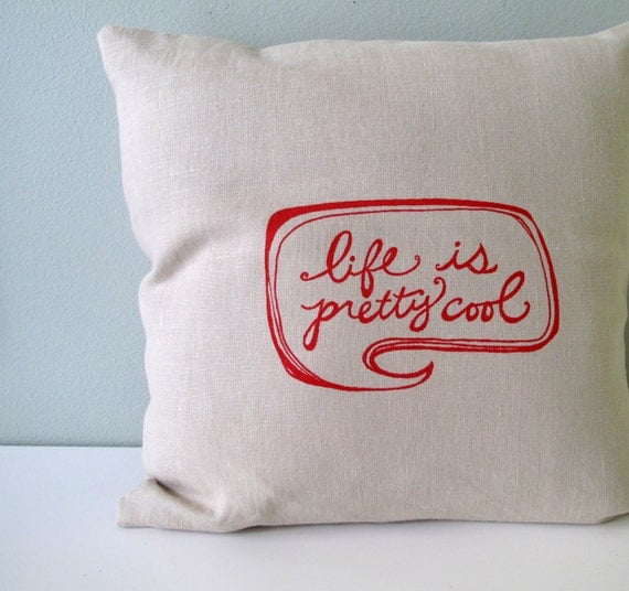 Pillow Cover Cushion Cover Life Is Pretty By