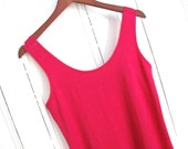 Dress in pink Hemp and Organic Cotton - On sale