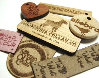 ONE custom wood button or sample from Remember Wynn