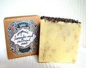 Organic Lavender and Oatmeal Olive Oil Soap 100g