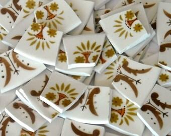 Vintage design Hand cut mosaic tiles M21