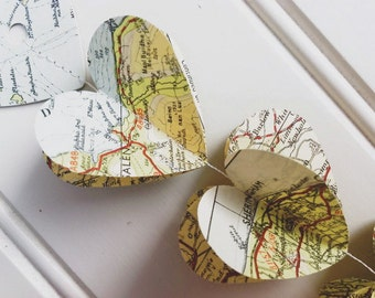 Heart Strings Vintage Road Atlas Mobile Mark II - Limited Edition