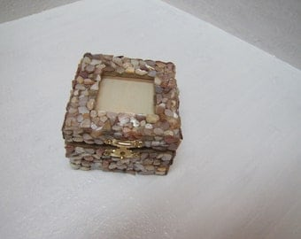 Shell box with place for picture