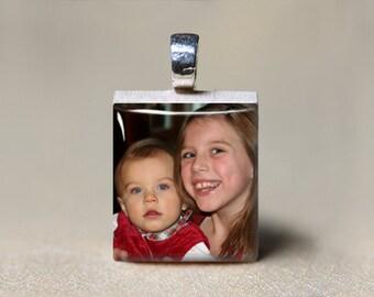 Custom Photo Jewelry, Personalized Photo Gift, Custom Photo Gift, Use Your Own Picture, Photo Pendant, Picture Jewelry, Picture Necklace