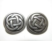"""Celtic Knot 7/8"""" Buttons by JHB - 92352 - set of Two"""