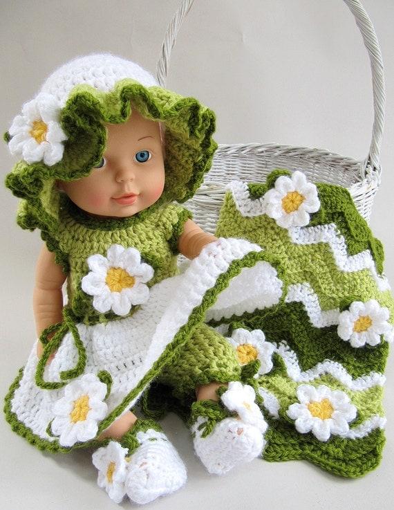 Daisy Crochet Baby Hat Pattern : Baby Daisy Crochet Pattern PDF