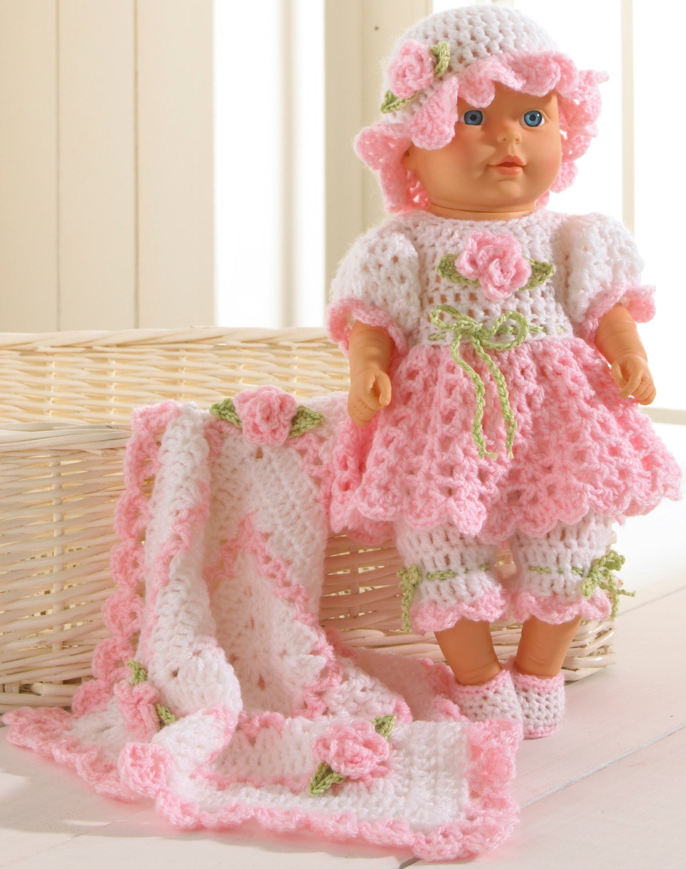 Baby Brianna Crochet Pattern PDF