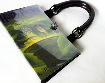 Harry Potter and The Half Blood Prince Book Purse - Harry Potter Half Blood Book Cover Handbag - Half Blood Prince Book Clutch