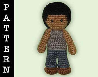Crochet Pattern - Amigurumi Jacob Doll