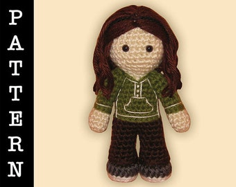 Crochet Pattern - Amigurumi Bella Doll